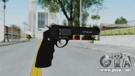 GTA 5 Heavy Revolver - Misterix 4 Weapons para GTA San Andreas segunda pantalla
