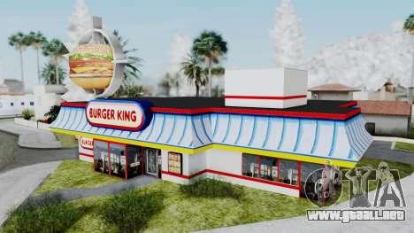 Burger King Texture para GTA San Andreas