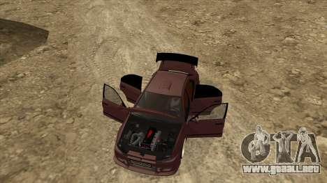 Mitsubishi Galant VR-4 (2JZ-GTE) para visión interna GTA San Andreas