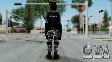 S.W.A.T v4 para GTA San Andreas tercera pantalla
