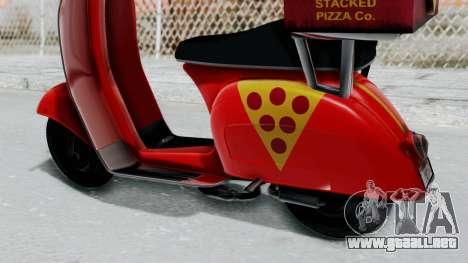 GTA 5 Pizza Boy para la visión correcta GTA San Andreas