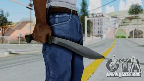 Vice City Knife para GTA San Andreas tercera pantalla