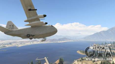 GTA 5 Amphibious Plane séptima captura de pantalla