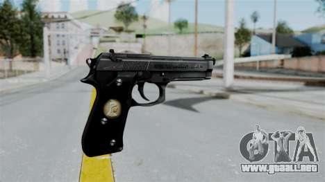 Tariq Iraq Pistol para GTA San Andreas segunda pantalla