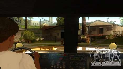 GTA V HVY Barracks OL para visión interna GTA San Andreas