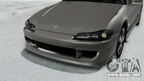 Nissan Silvia S15 Spec-R 2000 para visión interna GTA San Andreas