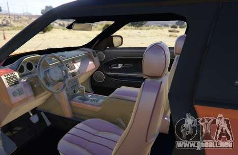 GTA 5 Range Rover Evoque 3.0 vista lateral trasera derecha