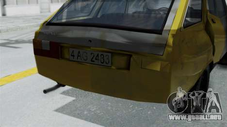 Dacia 1325 Liberta Rusty para la visión correcta GTA San Andreas