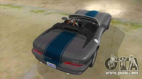 HD Banshee update para vista inferior GTA San Andreas