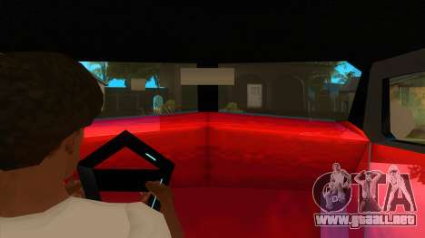 GTA LCS Thunder-Rodd para visión interna GTA San Andreas