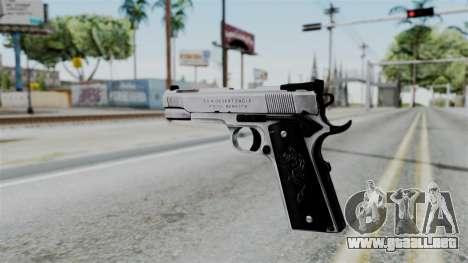 For-h Gangsta13 Pistol para GTA San Andreas segunda pantalla