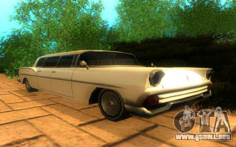 Tornado Limousine para GTA San Andreas
