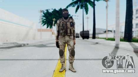 Crysis 2 US Soldier 8 Bodygroup A para GTA San Andreas segunda pantalla