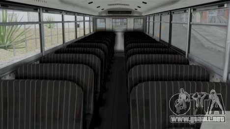 Bus from Life is Strange para la visión correcta GTA San Andreas