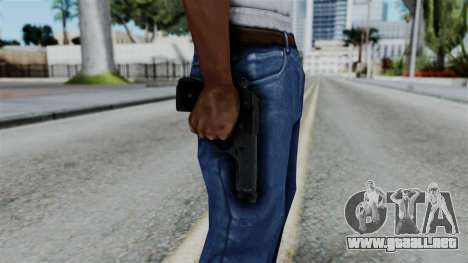 No More Room in Hell - Beretta 92FS para GTA San Andreas tercera pantalla