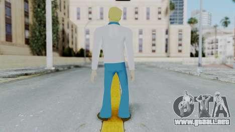 Scooby Doo Fred para GTA San Andreas tercera pantalla