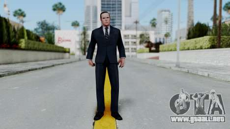 Marvel Future Fight Agent Coulson v2 para GTA San Andreas segunda pantalla