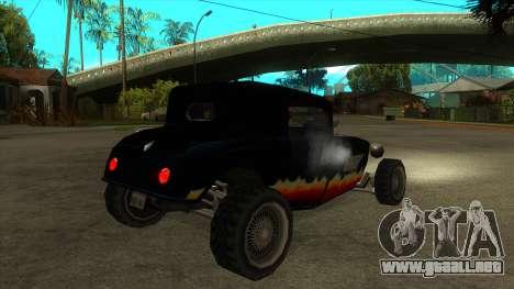 Diablos Hotknife para la visión correcta GTA San Andreas