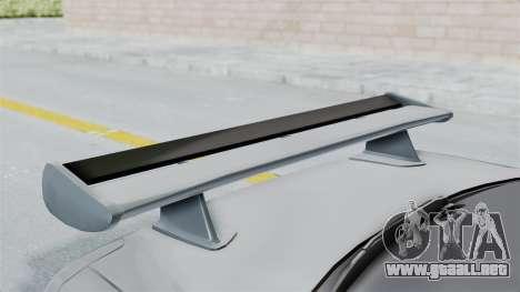 Nissan Skyline GT-R R34 2002 F&F4 para visión interna GTA San Andreas