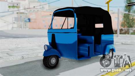 Sri Lanka Three Wheeler (Rickshow) para GTA San Andreas