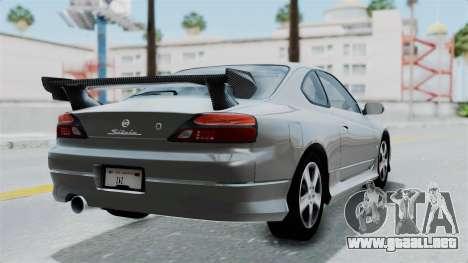 Nissan Silvia S15 Spec-R 2000 para GTA San Andreas left