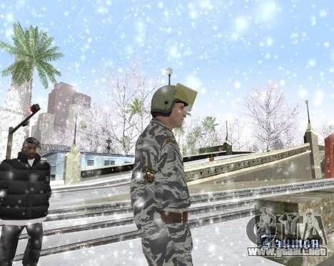 El OMON para GTA San Andreas tercera pantalla