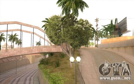 El trabajo de reparación de la Calle Grove para GTA San Andreas octavo de pantalla