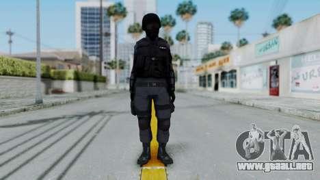 S.W.A.T v2 para GTA San Andreas segunda pantalla