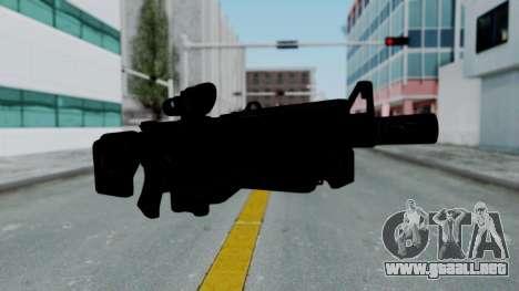Kusanagi ACR-10 Assault Rifle para GTA San Andreas segunda pantalla