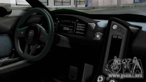 GTA 5 Progen T20 v2 IVF para la visión correcta GTA San Andreas