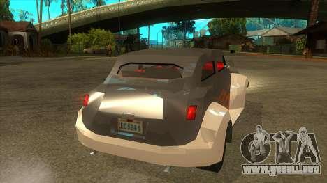 GTA LCS Thunder-Rodd para la visión correcta GTA San Andreas