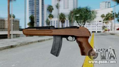 M1 Enforcer para GTA San Andreas segunda pantalla