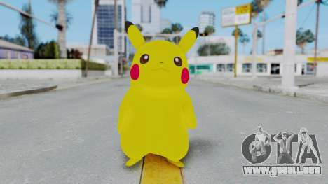 Dancing Pokemon Band - Pikachu para GTA San Andreas segunda pantalla