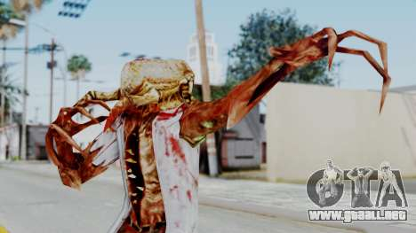 Zombie Scientist Skin from Half Life para GTA San Andreas