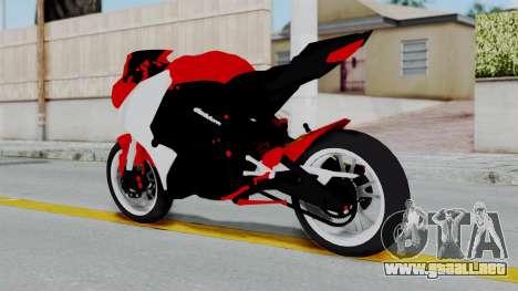 Yamaha YZF-R25 YoungMachine Concept para GTA San Andreas left