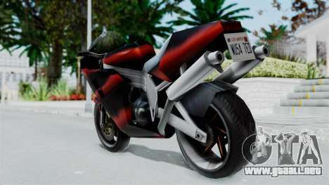 FCR-900 Custom para GTA San Andreas left