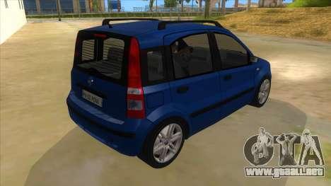 Fiat Panda V3 para la visión correcta GTA San Andreas