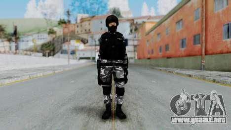S.W.A.T v4 para GTA San Andreas segunda pantalla
