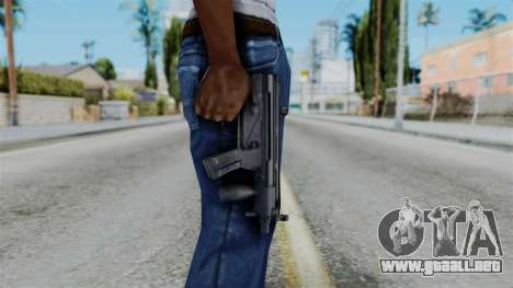 Vice City Beta MP5-K para GTA San Andreas tercera pantalla