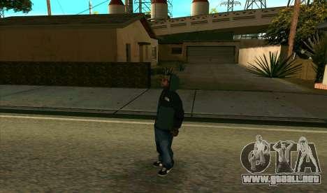 BALLAS1 para GTA San Andreas segunda pantalla