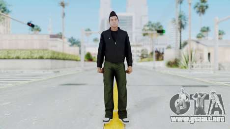 GTA 5 Claude Speed para GTA San Andreas segunda pantalla