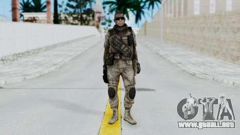 Crysis 2 US Soldier 2 Bodygroup B para GTA San Andreas segunda pantalla