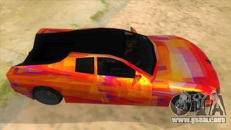 GTA 3 Cheetah ZTR para visión interna GTA San Andreas