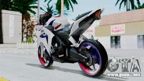 Honda CB150R para GTA San Andreas left