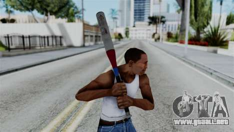 No More Room in Hell - Baseball Bat para GTA San Andreas tercera pantalla