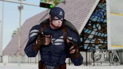Marvel Future Fight - Captain America para GTA San Andreas