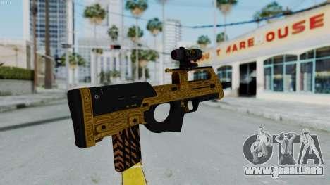 GTA 5 Online Lowriders DLC Assault SMG para GTA San Andreas tercera pantalla