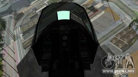 Mammoth Hydra v2 para la visión correcta GTA San Andreas