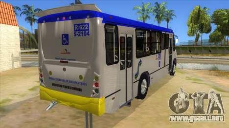 CAMION R622 para visión interna GTA San Andreas