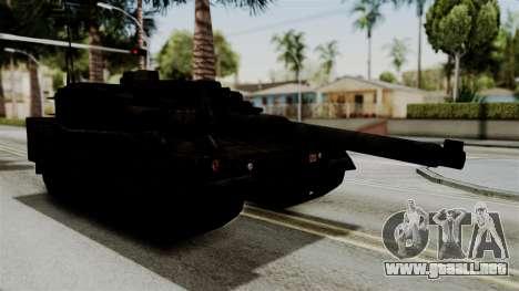 Point Blank Black Panther Rusty para GTA San Andreas vista posterior izquierda